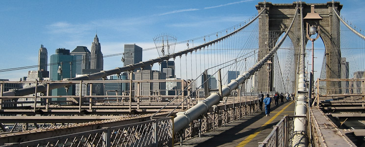 Brooklyn Bridge, New York City, United States